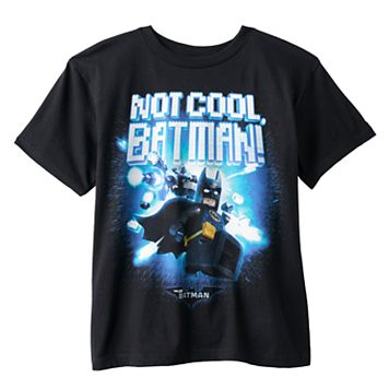 Boys 8-20 The Lego Batman Movie Not Cool Tee