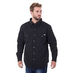 Men's Dickies Classic-Fit Peached Twill Shirt Jacket