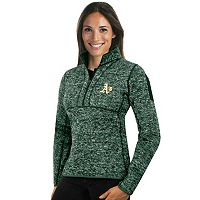 Women's Antigua Oakland Athletics Fortune Midweight Pullover Sweater