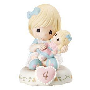 Precious Moments Age 4 Girl Figurine