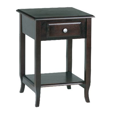 Home Star Products Merlot Accent Table