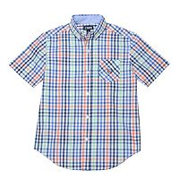 Boys 4-20 Chaps Stretch Plaid Button-Down Shirt