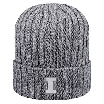 Adult Top of the World Illinois Fighting Illini Two Below Beanie