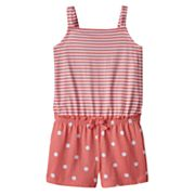 Girls 4-10 Jumping Beans® Tank Top Romper
