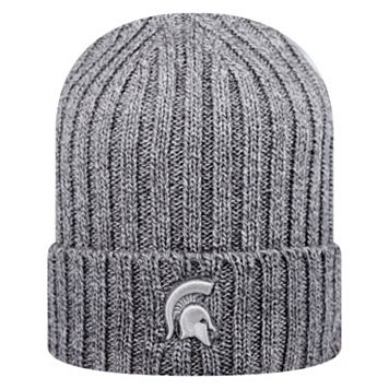 Adult Top of the World Michigan State Spartans Two Below Beanie