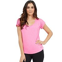 Women's Marika Exhale Drape Open Back Tee