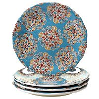 Certified International Spice Route 4-pc. Dinner Plate Set