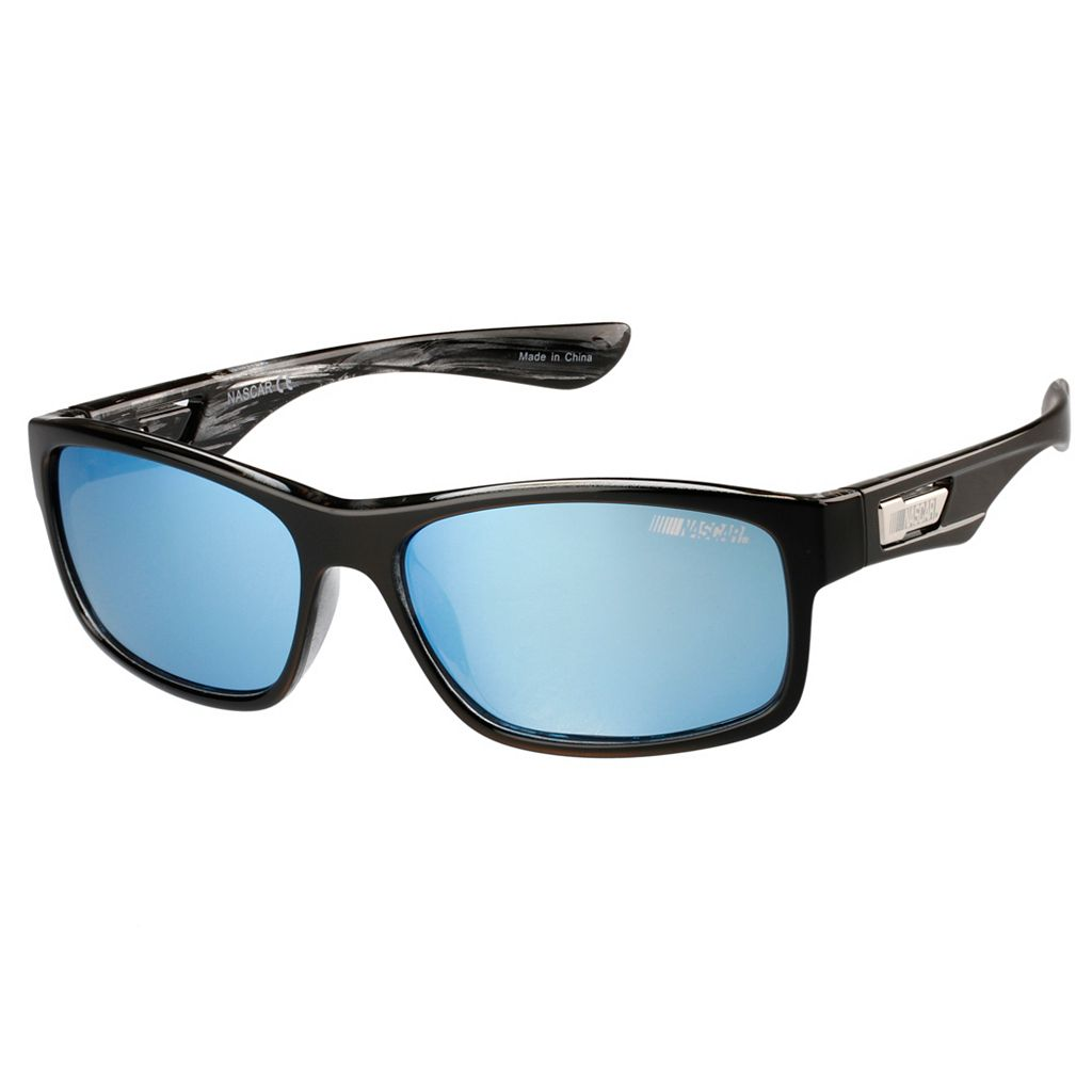Men's NASCAR RacerX Polarized Rectangular Sunglasses