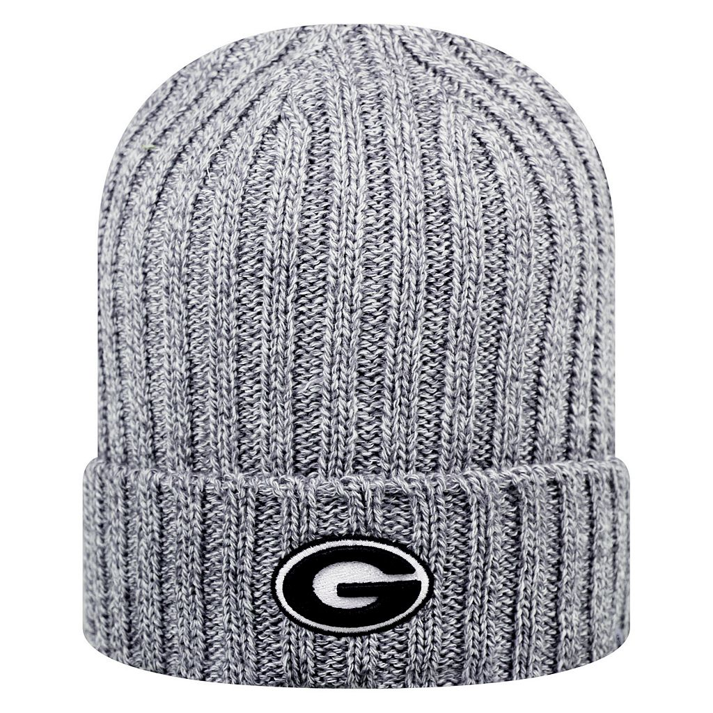 Adult Top of the World Georgia Bulldogs Two Below Beanie