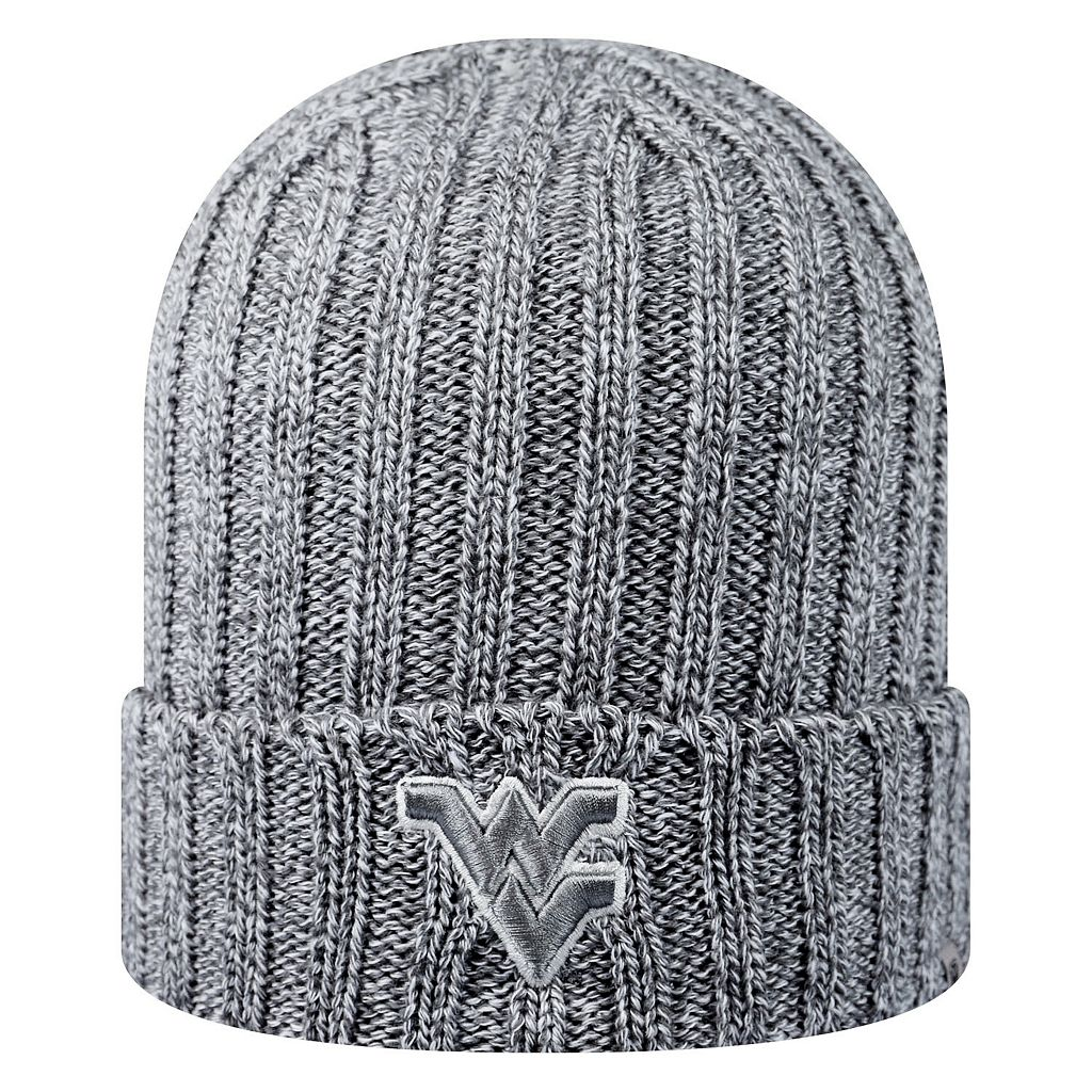 Adult Top of the World West Virginia Mountaineers Two Below Beanie