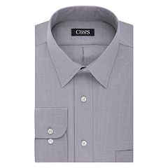 Big & Tall Chaps Regular-Fit Stretch-Collar Wrinkle-Free Dress Shirt