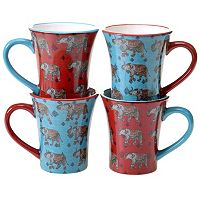 Certified International Spice Route 4-pc. Mug Set