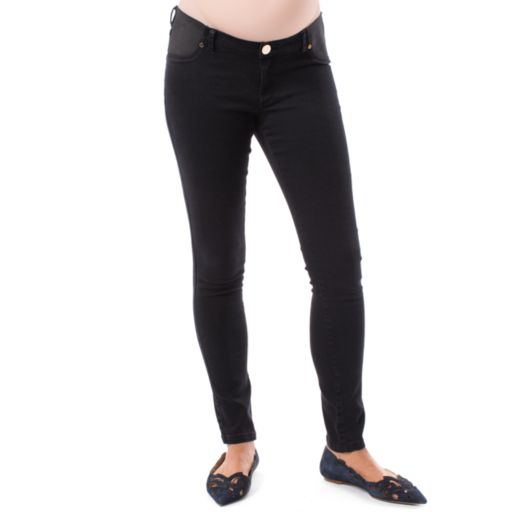 Maternity Pip & Vine by Rosie Pope Panel Inset Skinny Jeans
