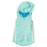 Girls 7-16 & Plus Size SO® Hooded Tank Top with Removable Built-In Bra