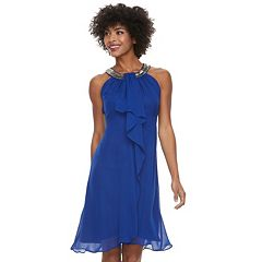 Women's Chaya Ruffle Embellished Halter Dress