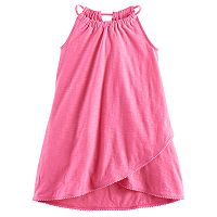 Girls 4-10 Jumping Beans® Tulip Hem Pom-Pom Dress