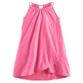 Girls 4-10 Jumping Beans® Tulip Hem Pom-Pom Dress