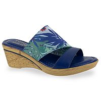 Tuscany by Easy Street Adagio Women's Wedge Sandals