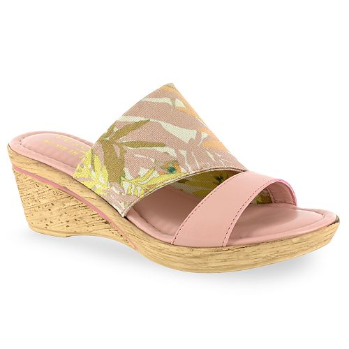 ee63368e1433 Tuscany by Easy Street Adagio Women s Wedge Sandals
