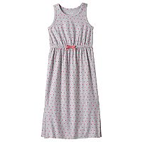 Girls 4-10 Jumping Beans® Split Hem Polka-Dot Maxi Dress