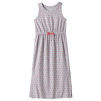 Girls 4-10 Jumping Beans® Split Hem Polka-Dot Maxi Dress