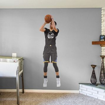 Golden State Warriors Stephen Curry Wall Decal by Fathead