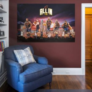 Cleveland Cavaliers Montage Mural Wall Decal by Fathead
