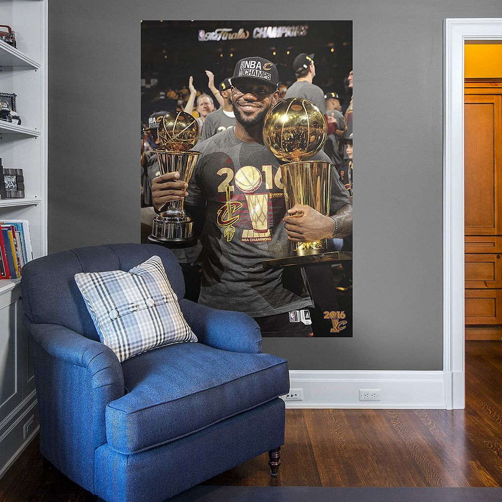Cleveland Cavaliers LeBron James 2016 NBA Finals MVP Wall Decal by Fathead