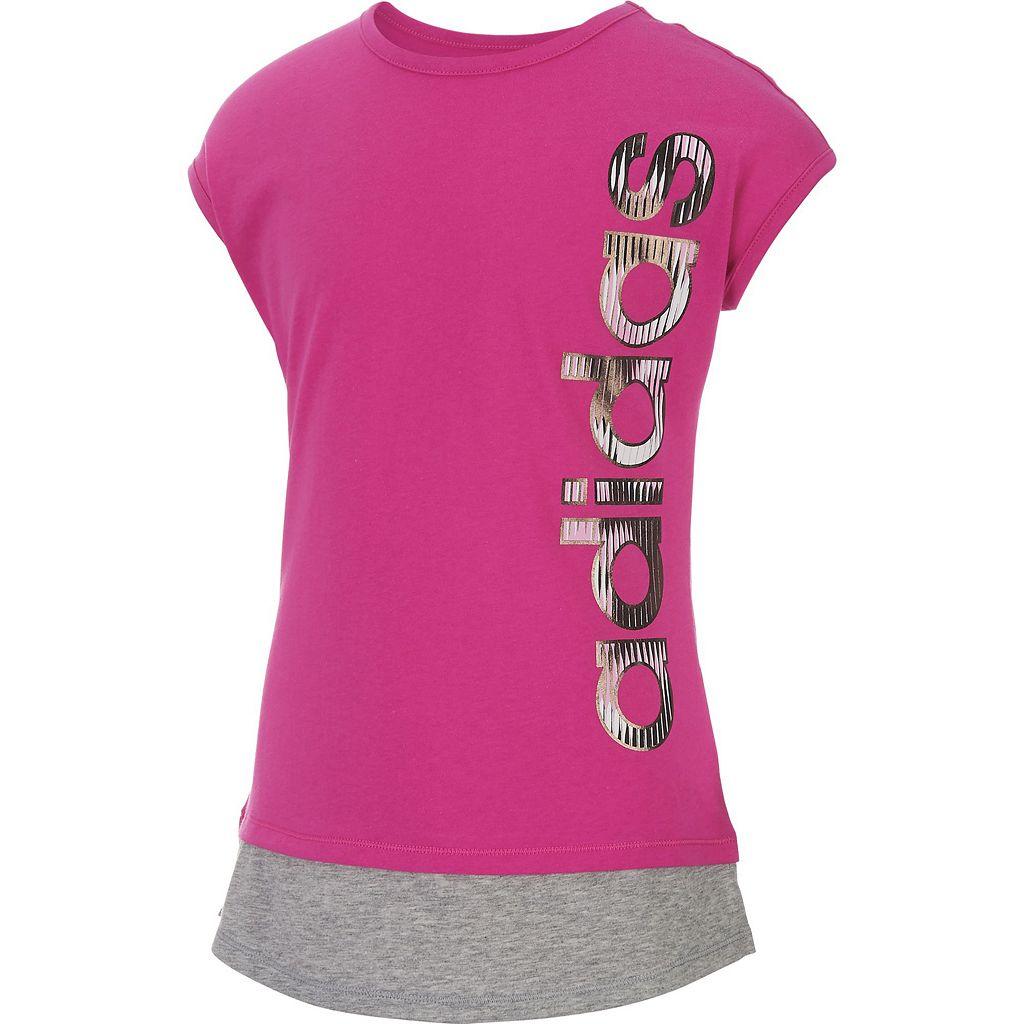 Girls 7-16 adidas Mock-Layered