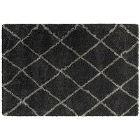 StyleHaven Hillcrest Diamond Lattice Shag Rug