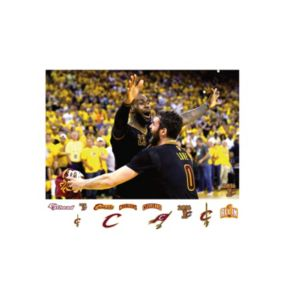 Cleveland Cavaliers LeBron James 2016 NBA Finals Celebration Wall Decal by Fathead