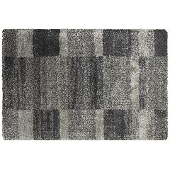 StyleHaven Hillcrest Shaded Blocks Shag Rug