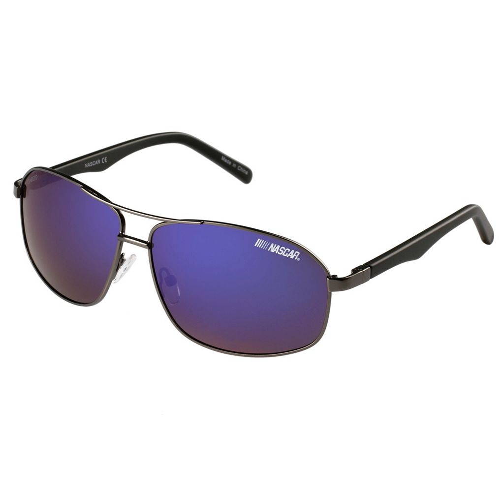 Men's NASCAR Polarized Aviator Sunglasses