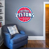 Detroit Pistons Logo Wall Decal by Fathead