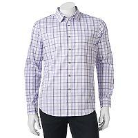 Men's Apt. 9® Slim-Fit Patterned Stretch Button-Down Shirt