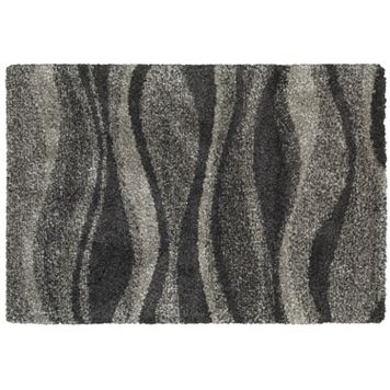 StyleHaven Hillcrest Shadow Waves Shag Rug