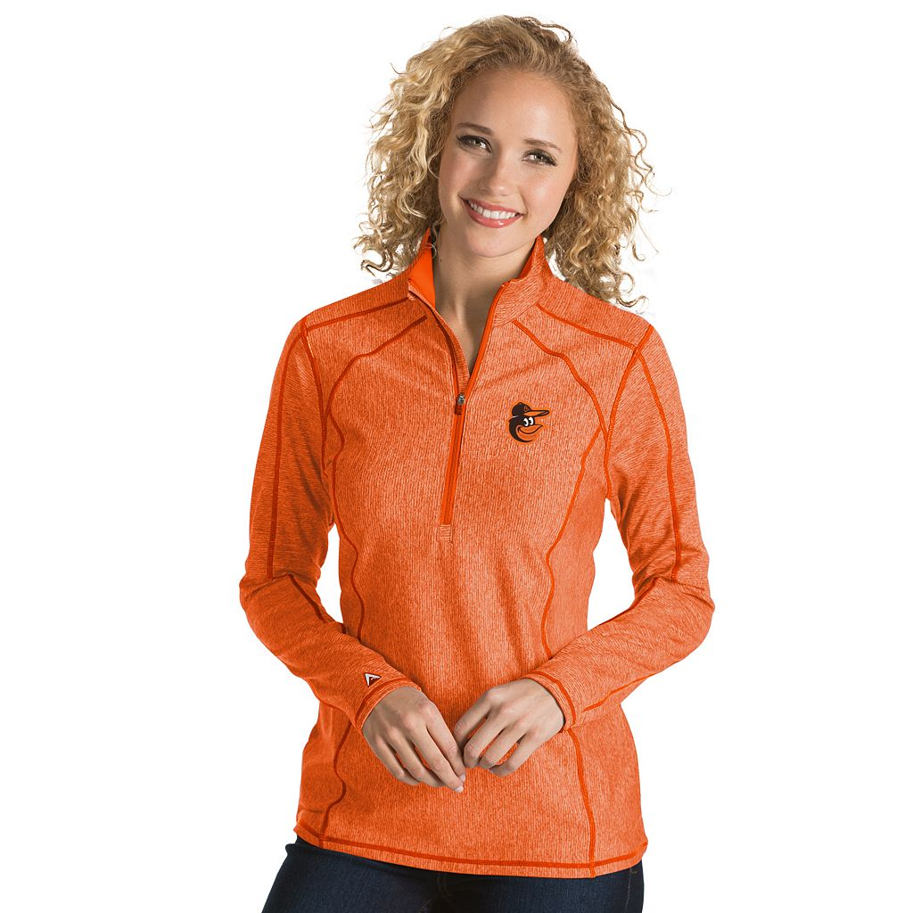 Women's Antigua Baltimore Orioles Tempo Pullover