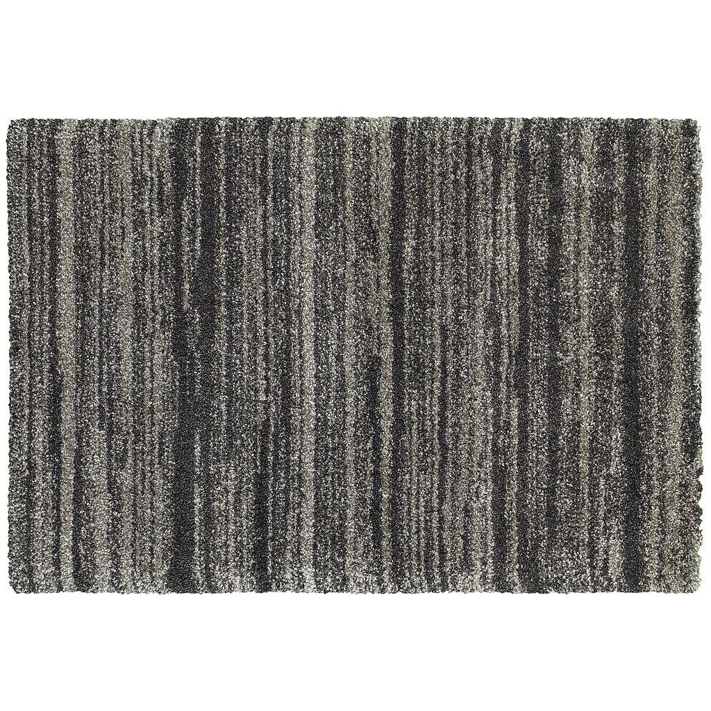 StyleHaven Hillcrest Shadow Stripes Shag Rug