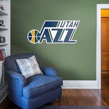 Utah Jazz Real Big Logo Wall Decal by Fathead