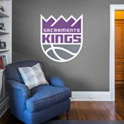 Sacramento Kings Real Big Logo Wall Decal by Fathead