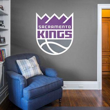 Sacramento Kings Real Big Logo Wall Decal by Fathead