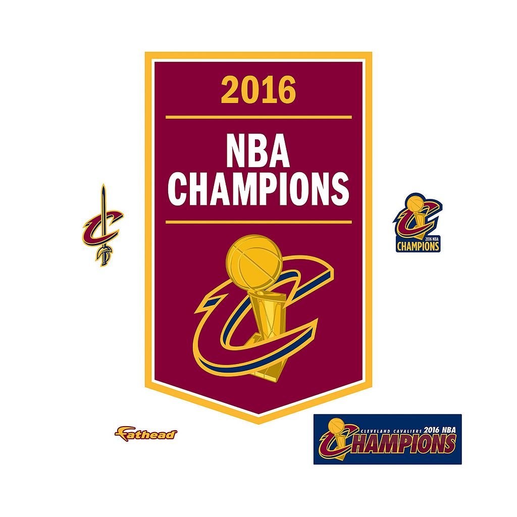 Cleveland Cavaliers Real Big Logo Wall Decal by Fathead