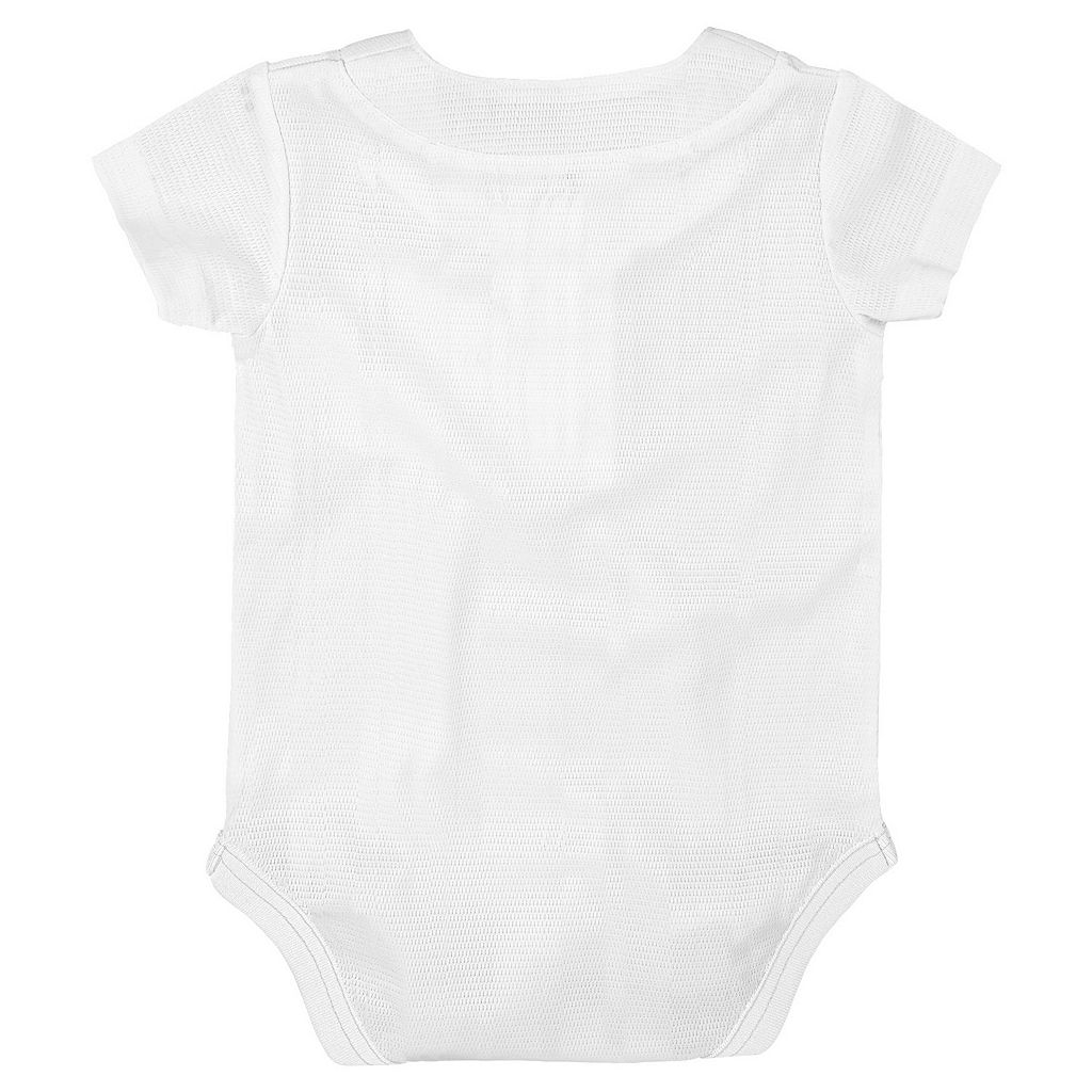 Baby Majestic Los Angeles Dodgers Cool Base Replica Jersey Bodysuit