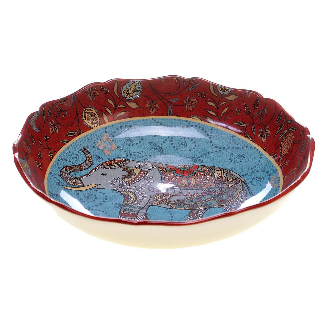 Certified International Spice Route Serving Bowl