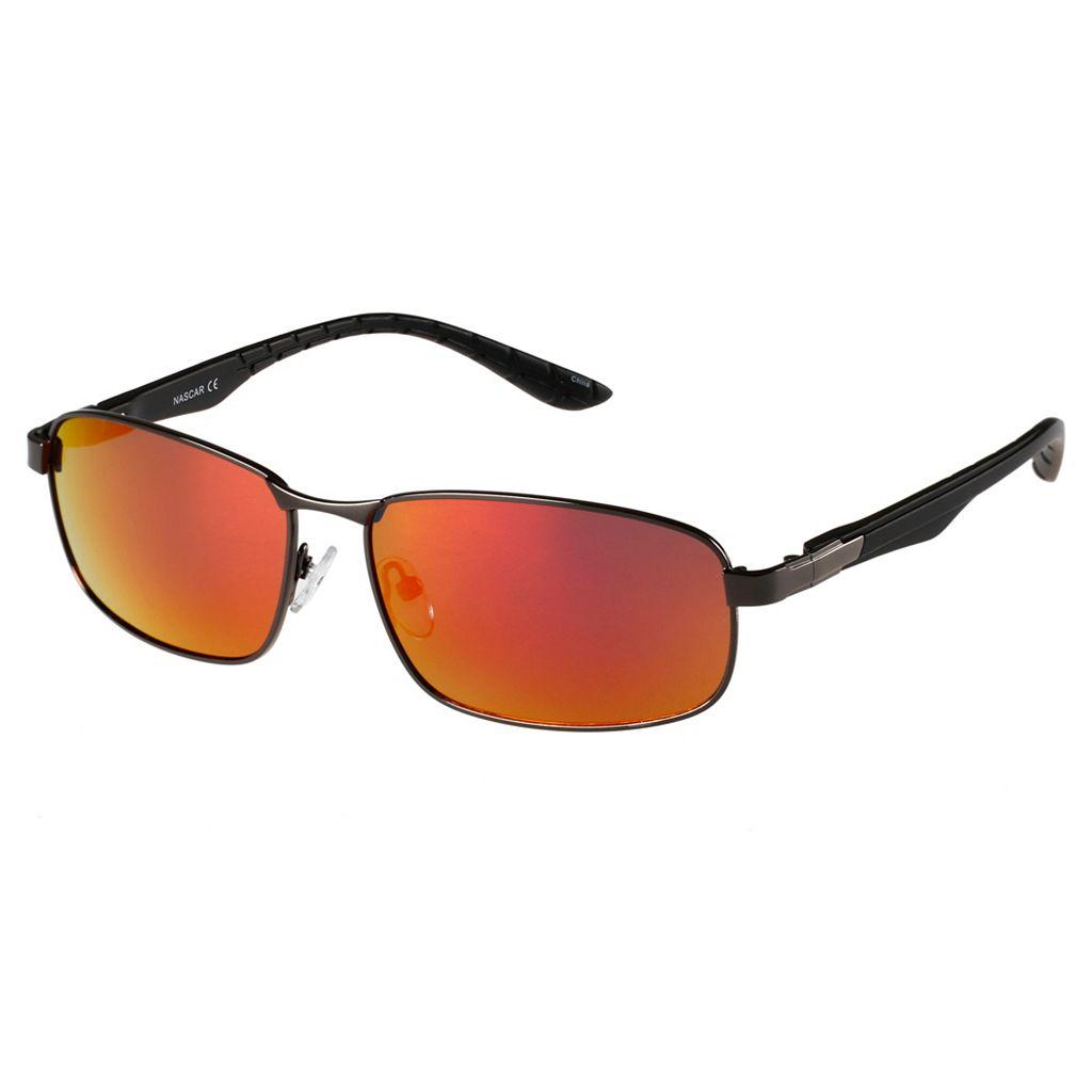 Men's NASCAR Polarized Rectangular Sunglasses