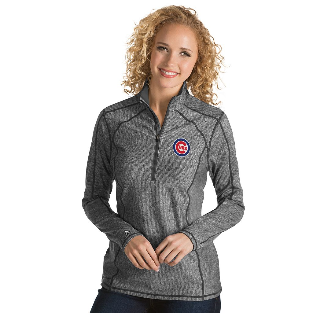 Women's Antigua Chicago Cubs Tempo Pullover