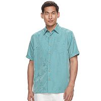 Men's Havanera Floral Jacquard Button-Down Shirt