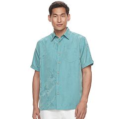Men's Havanera Floral Jacquard Button-Down Shirt