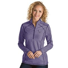 Women's Antigua Colorado Rockies Tempo Pullover
