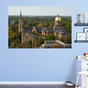 Notre Dame Fighting Irish Campus Mural Wall Decal by Fathead